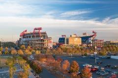 LP pola stadium w Nashville Obrazy Royalty Free