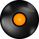LP record stock illustration