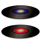 LP record album flat Royalty Free Stock Images