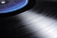 LP Record Background Stock Photo