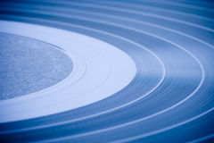 LP record closeup Royalty Free Stock Photography
