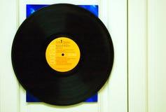 lp registrerad vinyl Fotografering för Bildbyråer