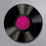 LP-Vinylfreier raum stieg lizenzfreie abbildung