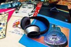 LP vnyl records Royalty Free Stock Photo