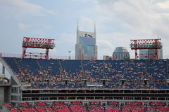 LPfältfotbollsarena i Nashville Arkivfoton
