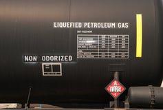 LPG铁路运输 免版税图库摄影