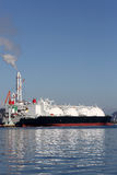 LPG cargo ship Royalty Free Stock Photo