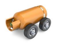 LPG drive Stock Image
