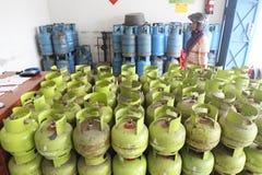 Lpg gas cylinders Stock Photos