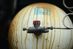 LPG Gas tanks Stock Photos