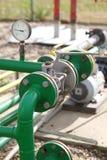 LPG instalation Stock Image