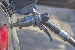 LPG refueling Stock Images