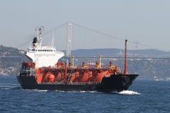 LPG Tanker Ship Royalty Free Stock Photography
