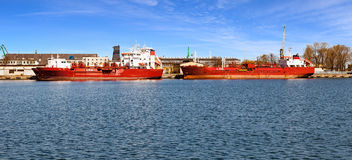 LPG Tankers Royalty Free Stock Photography