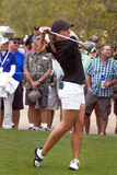 LPGA Womens Golfer Karin Sjodin. Competing in RR Donnelley Founders Cup tournament in Phoenix, Arizona Stock Photography