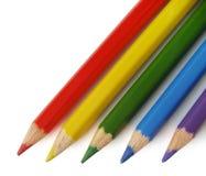 Lápices coloreados Imagenes de archivo