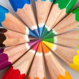 Lápices del color Foto de archivo libre de regalías
