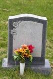 Lápida mortuaria Imagenes de archivo