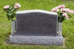 Lápida mortuaria Fotografía de archivo libre de regalías