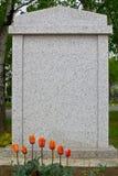 Lápida mortuoria Foto de archivo libre de regalías