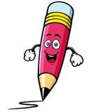 Lápis dos desenhos animados Foto de Stock