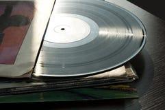 LPs y cubiertas fotografía de archivo libre de regalías