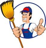Líquido de limpeza profissional Imagens de Stock Royalty Free