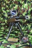 .22 LR  carbine Bolt  rifle. 22 LR  carbine Bolt action rifle Royalty Free Stock Images
