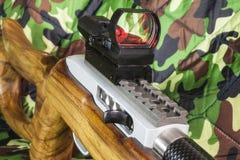 .22 LR  carbine Bolt  rifle Stock Photos