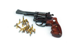 .22LR classic gun Royalty Free Stock Images