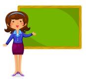 Lycklig lärare Arkivfoton