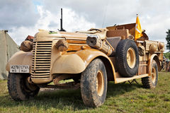 LRDG WW2 truck Royalty Free Stock Photos