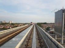 LRT路 免版税图库摄影