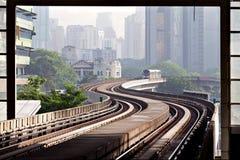 LRT metro of Kuala Lumpur Royalty Free Stock Photography