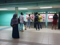 LRT staci bilet Obraz Royalty Free