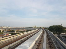 LRT-Weg Royalty-vrije Stock Foto's
