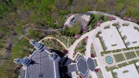 LSD Temple Washington DC aerial video Royalty Free Stock Photo
