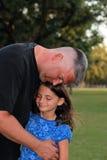 älska för fader Fotografering för Bildbyråer