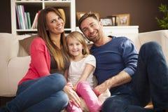 älska för familj Royaltyfria Bilder