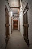 läskig källare Royaltyfri Bild