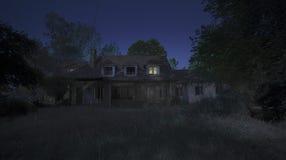 Läskig natt Arkivbild