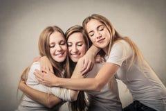 Älskvärda vänner Royaltyfria Foton