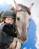 älskvärt mitt för häst Royaltyfria Bilder