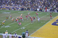 LSU Football stock images