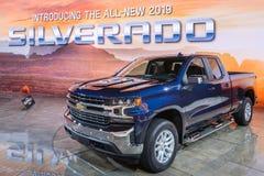 2019 LT de Chevrolet Silverado, NAIAS Image stock
