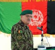 Lt. Gen. Sher Mohammad Karim Stock Images