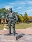 1LT Karl W. Richter Statue Stock Photography