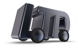 Ltd на колесах Стоковая Фотография