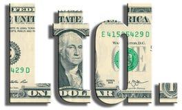 Ltd. company. US Dollar texture. Stock Image