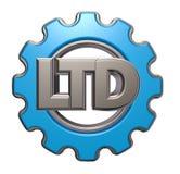 Ltd.-Gangrad Lizenzfreies Stockfoto